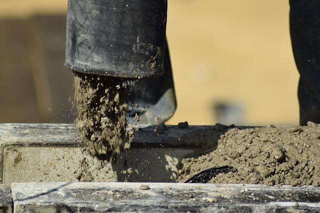 An image of concrete construction.